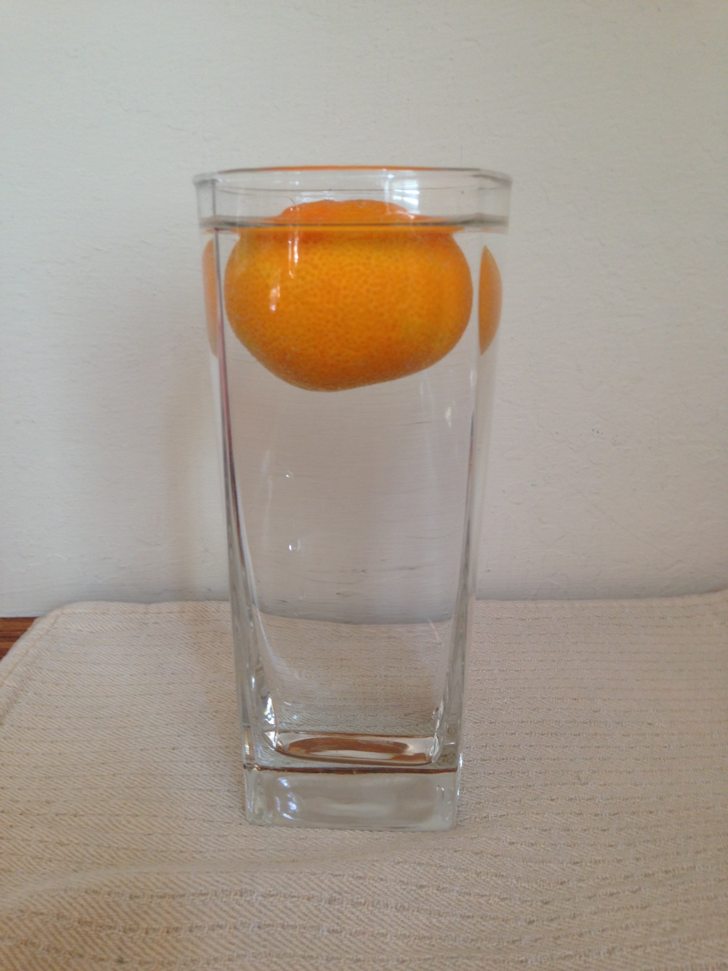 Peel The Orange. Now Predict What Will Happen When You Place The Unpeeled  Orange Into The Water.